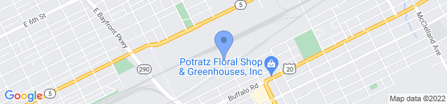BASF is located at 1729 East Avenue, Erie, PA 16503