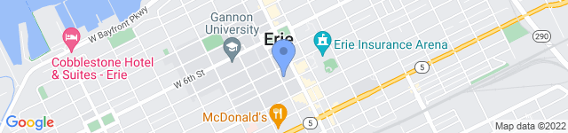 Erie Together is located at 18 West 9th Street, Erie, Pennsylvania 16501