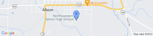 Northwestern School District is located at 200 Harthan Way, Albion, PA 16401 0