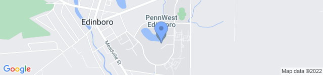 Edinboro University is located at 219 Meadville Street, Edinboro, PA 16444 0