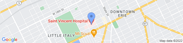 Saint Vincent Hospital is located at 232 West 25 Street, Erie, PA 16544 0