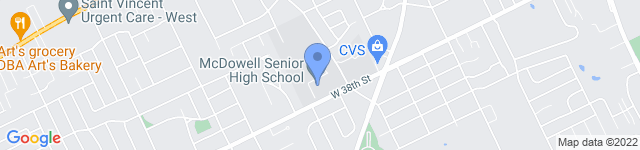 McDowell High School is located at 3580 W 38th St, Erie, PA 16506