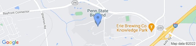 Penn State Behrend is located at 4701 College Drive, Erie, PA 16563 0