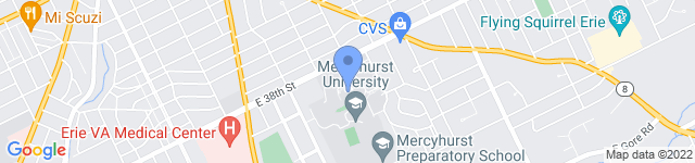 Mercyhurst University is located at 501 East 38th Street, Erie, PA 16546