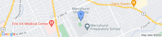 Mercyhurst University is located at 501 East 38th Street, Erie, PA 16546 0