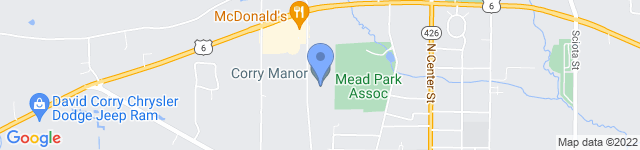 Corry Manor is located at 640 Worth St, Corry , PA 16407