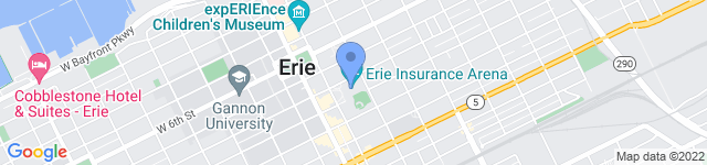 Erie Events  is located at 809 French Street, Erie, PA 16501