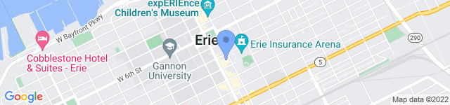 Erie Philharmonic is located at 811 State Street, Erie , PA  16501