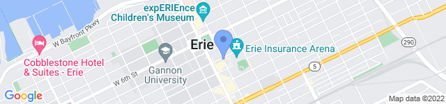 Erie Otters Hockey is located at 833 French Street, Erie, PA 16501