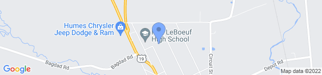Fort LeBoeuf Middle School is located at 865 Cherry Street, Waterford , PA 16441