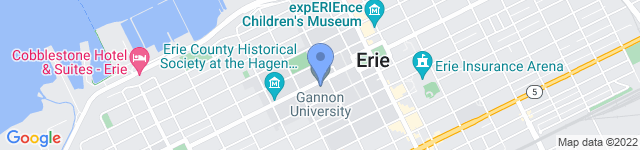 Erie Together is located at University Square, Erie, PA 16541 0