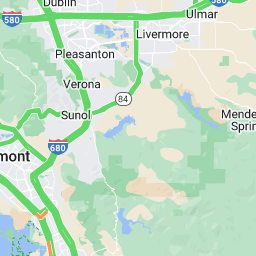 Bay Area Traffic Live Traffic Reports And Maps SFGate - Richmond on us map