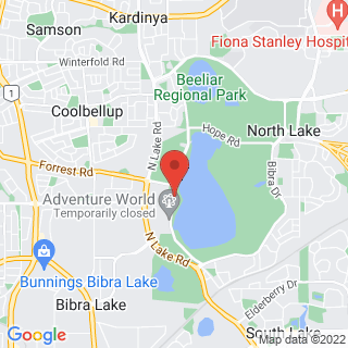 Laser Bibra Lake Laser Combat Location Map