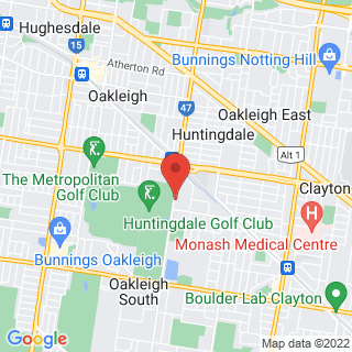 Karting South Oakleigh Location Map