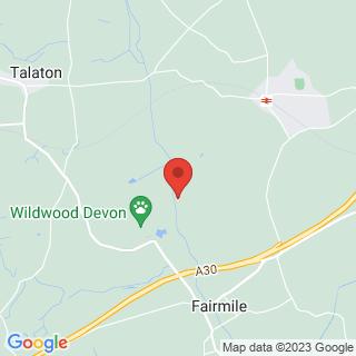 Quad Biking Exeter, Devon Location Map