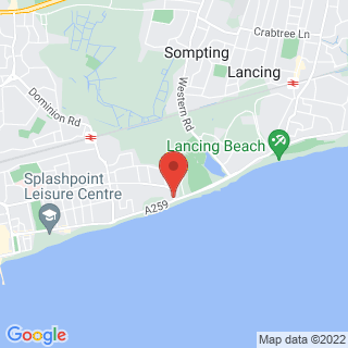 Karting Worthing, West Sussex Location Map