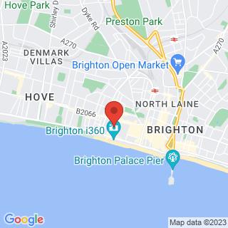 Escape Games Brighton Location Map