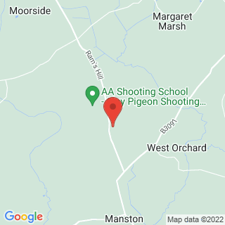Clay Pigeon Shooting Sturminster Newton Location Map