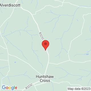 Clay Pigeon Shooting Yarnscombe Nr Barnstaple, Devon Location Map