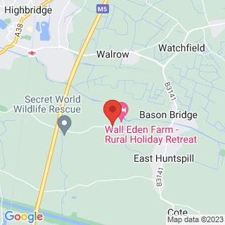 Axe Throwing Highbridge, Somerset Location Map
