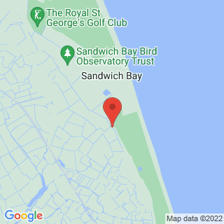 Clay Pigeon Shooting Sandwich, Kent Location Map