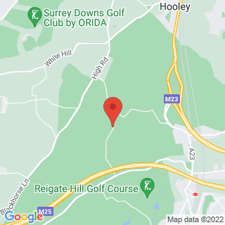 Clay Pigeon Shooting Merstham, Surrey Location Map