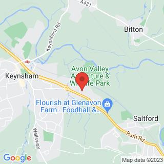 Segway Keynsham, Bath Location Map