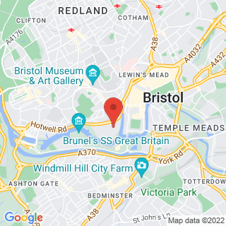 Bungee Jumping Bristol Location Map