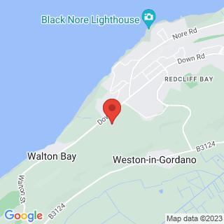 Paintball Portishead, Somerset Location Map