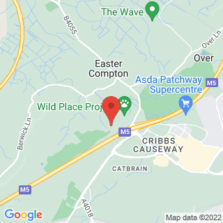 Paintball Cribbs Causeway Location Map