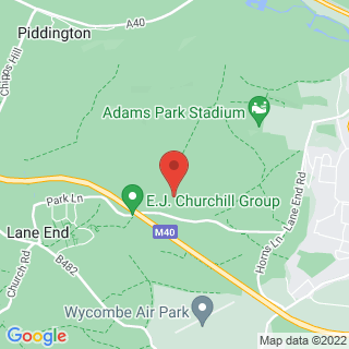 Paintball High Wycombe Location Map