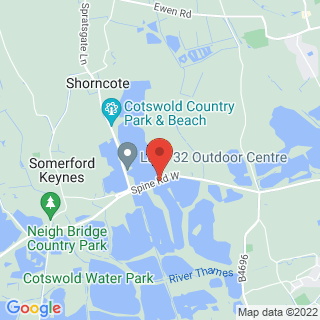 Air Rifle Ranges Swindon Location Map