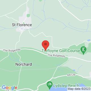 Quad Biking Tenby, Dyfed Location Map