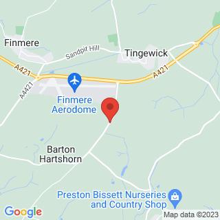 Paintball Buckingham Location Map