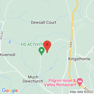 Clay Pigeon Shooting Hereford Location Map