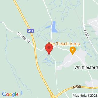 Quad Biking Cambridge Location Map