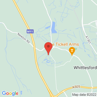 Clay Pigeon Shooting Cambridge Location Map