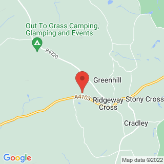 Quad Biking Malvern, Worcestershire Location Map