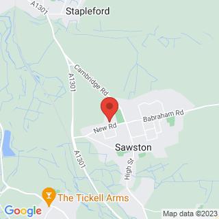 Bubble Football Cambridge Location Map