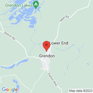 Paintball Northampton Location Map