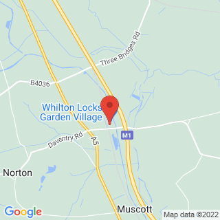 Clay Pigeon Shooting Daventry, Northamptonshire Location Map