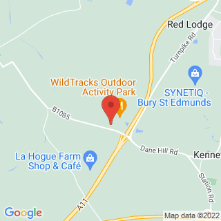 Karting Newmarket, Suffolk Location Map