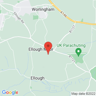 Karting Ellough, Suffolk Location Map