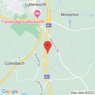 Paintball Leicester- Lutterworth Location Map