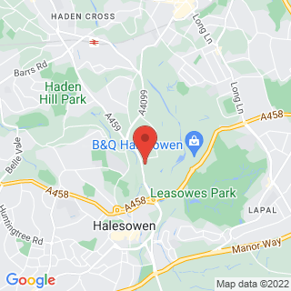 Karting Halesowen Location Map
