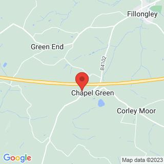 Quad Biking Coventry Location Map