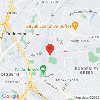 Karting Saltley, Birmingham Location Map