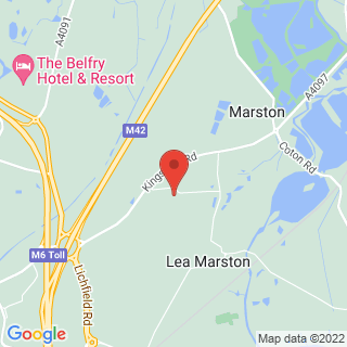 Quad Biking Lea Marston Location Map