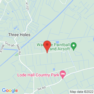 Paintball Kings Lynn Location Map