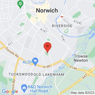 Combat Archery Norwich Location Map